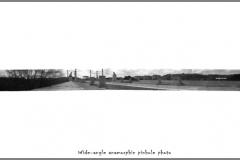Pinhole anamorphic A bridge