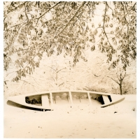 Lith print Winter