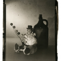 Palladium print Sad clown