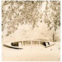 Lith print Winter