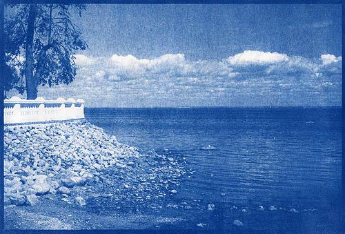 Cyanotype Petergof