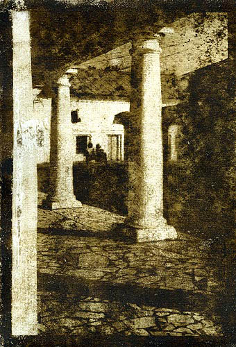 Oil print Two columns