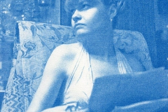 Cyanotype Mary