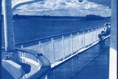 Cyanotype Ship