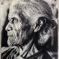 The old woman with Amazonia