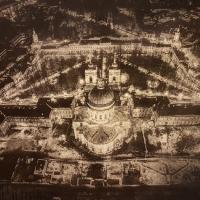 Gumoil Petersburg - Alexander Nevsky Lavra at night