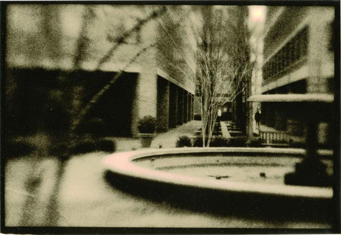 Lith print Fountain