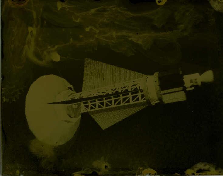 Tintype modern Atomic Moonship