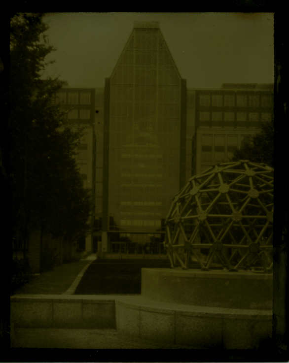 Tintype modern Patent and Trade Office pinhole