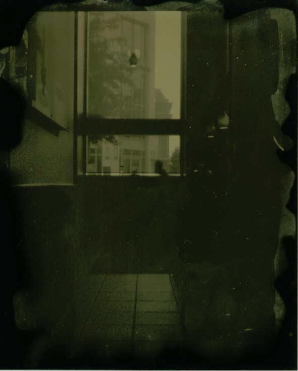 Tintype modern Starbucks pinhole