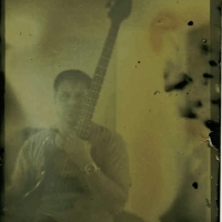 Tintype modern Self Portrait Me and My Bass