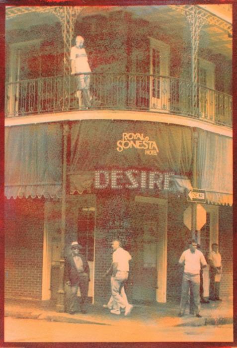 Tricolor gum Desire, New Orleans