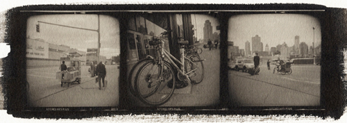 Platinum palladium print New York