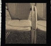 Platinum palladium pinhole Metal Chairs