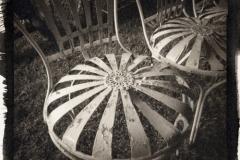 Platinum palladium pinhole Old Chairs