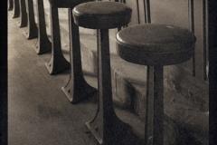 Platinum palladium print Soda Fountain Stools
