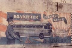 Polaroid image transfer Roadflier