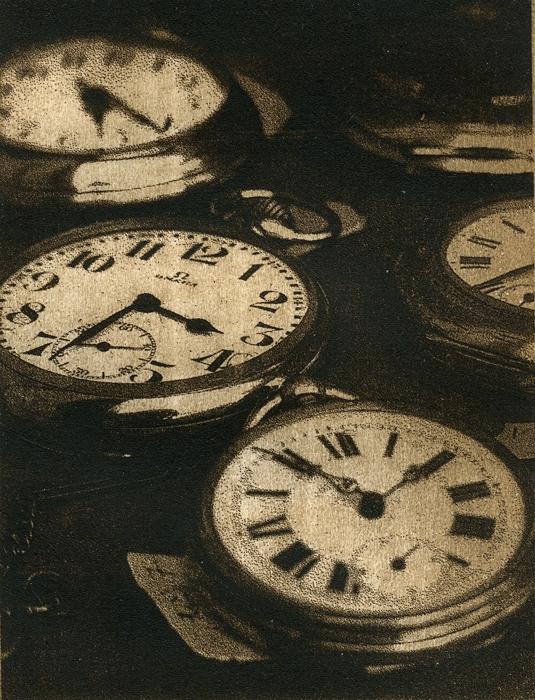 Solarplate intaglio Antique Watches Prague