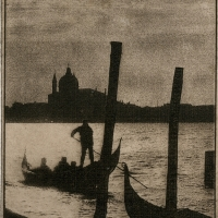 Solarplate intaglio Grand Canal
