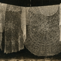 Solarplate intaglio Lace Tablecloths