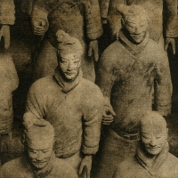 Solarplate intaglio Terra Cotta Warriors