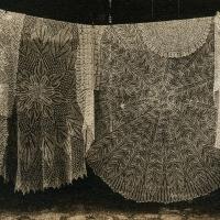 Solarplate intaglio Lace Tablecloths