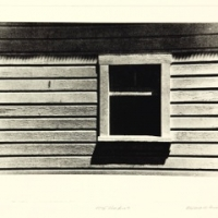 Photogravure Roof shadows