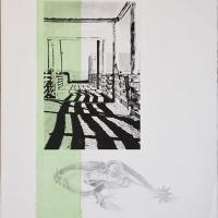Photogravure-Green-stripe