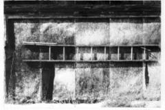 Photogravure Lonesome steps