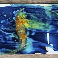 Cyanotype-Triptych