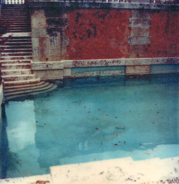 Image transfer Roman Pool