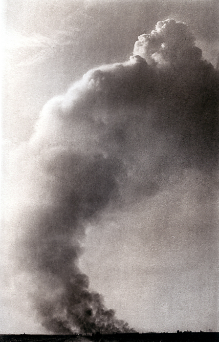 Photogravure Smoke Gets in Your Skies