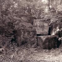 Photogravure The Secret Lives of Rocks 2