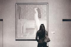 Photogravure Ava Before Nude Before Mirror