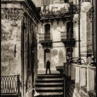 Platinum Palladium Stairs Sicily 2005