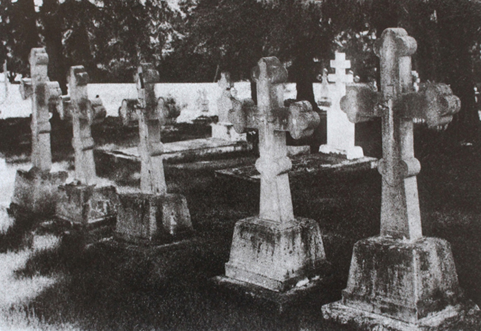 Bromoil Kalyna Country cemetery swries II