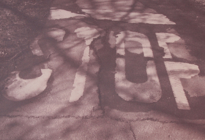 Toned Cyanotype Stop