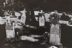 Bromoil Kalyna Country Cemetery Series