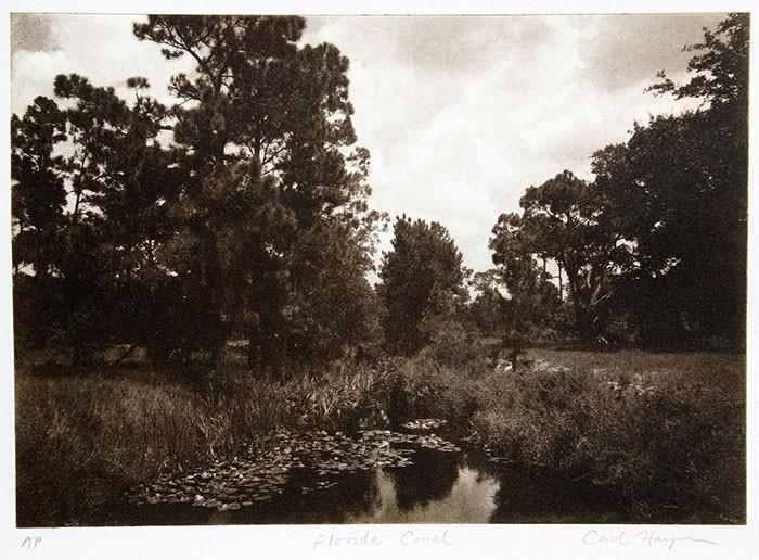 Photo-Intaglio-Florida-Canal