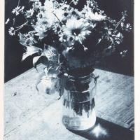 Intaglio print Bouquet