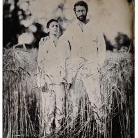 Wetplate collodion father and son