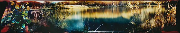 Film acceleration Walker Lake pinhole