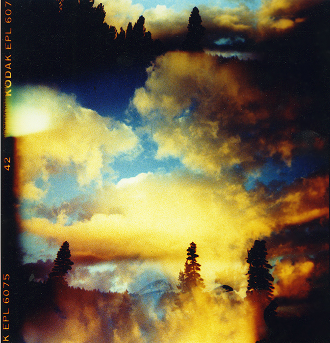 Film acceleration Yosemite Clouds Holga