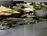 Solarized Inyo White mountains 1 lens pix panorama