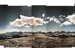 Cross processed Holga Bighorn Plateau
