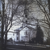 Daguerrotype Congregational Church, Middlebury, VT