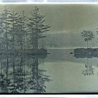 Daguerrotype Lake Dunmore Vermont