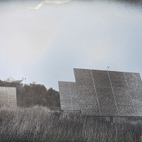 Daguerrotype Solar Array at Middlebury College