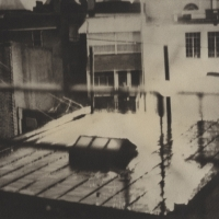Gum bichromate Rear Window