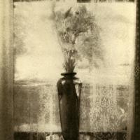 Gum over palladium Vase